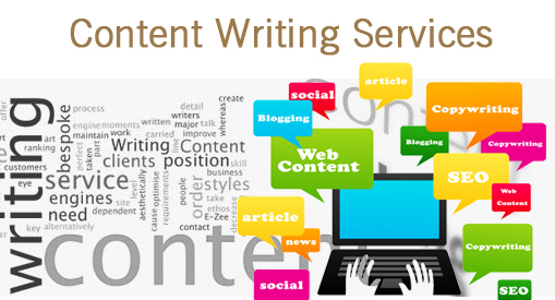Various Content Writing Services By Online Marketing Firm